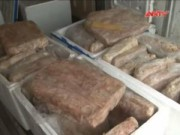 Thị trường - Tiêu dùng - Hãi hùng 600kg lòng lợn thối sắp lên bàn nhậu