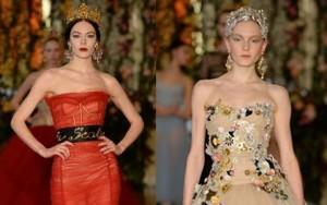 Thời trang - Một Dolce&Gabbana lộng lẫy và nữ tính tới nao lòng