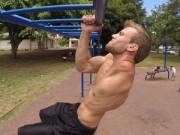Thể thao - Cảm phục VĐV thể hình chỉ có 1 tay, 1 lá phổi