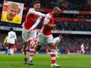 Bóng đá Ngoại hạng Anh - Arsenal: Phản công trở thành lẽ sống