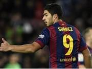 Ngôi sao bóng đá - Suarez: Hãy trút cơn giận lên mành lưới đối phương