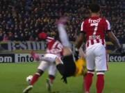 Video bóng đá hot - Chiếc thẻ đỏ nhanh nhất lịch sử bóng đá Hà Lan