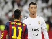 Bóng đá Tây Ban Nha - CR7, Neymar bị loại khỏi đội hình tiêu biểu tháng 1