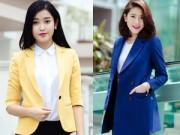 Thời trang - Á hậu Huyền My gợi ý chọn vest và măng tô đón Tết