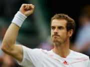 Tennis - Murray dốc kiệt sức nhằm vượt mặt Nadal
