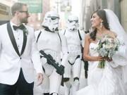 8X + 9X - Cặp đôi tổ chức đám cưới theo phong cách phim Star War