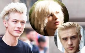 """Làm đẹp - 4 mỹ nam tóc bạch kim đẹp không kém """"hoàng tử 16 tuổi"""""""