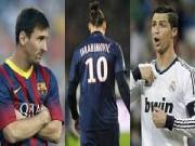 Bóng đá - Tin HOT tối 7/2: Ibra giỏi hơn Messi và Ronaldo