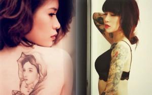 Ấn tượng cô gái Việt có hình xăm phủ kín cánh tay
