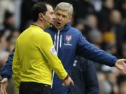 Bóng đá - Thừa nhận thất bại, Wenger vẫn trách trọng tài