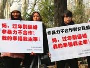 Chuyện lạ - Phụ nữ độc thân diễu hành để chống áp lực lấy chồng