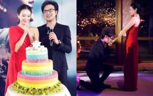 Ngôi sao điện ảnh - Chương Tử Di bất ngờ được cầu hôn công khai