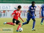"""Bóng đá Việt Nam - V7 V-League: B.Bình Dương & Than QN """"rủ nhau"""" ngã ngựa"""