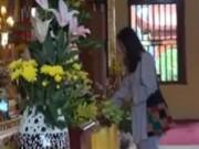 An ninh Xã hội - Camera giấu kín: Ăn cắp tiền trong chùa