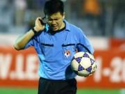 """Bóng đá - Tranh cãi cú """"bẻ còi"""" đầu tiên tại V-League 2015"""