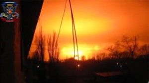 """Tin tức trong ngày - Ukraine: Nhà máy hóa chất nổ """"như bom hạt nhân"""""""