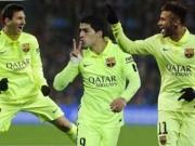 """Bóng đá Tây Ban Nha - Barca: Quyền năng của """"cây đinh ba"""""""