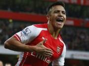 """Bóng đá Ngoại hạng Anh - Sanchez: Đứa con """"cưng"""" trong lòng Arsenal"""