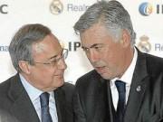 """Bóng đá Tây Ban Nha - Real thua thảm, Perez """"nóng mặt"""" với Ancelotti"""