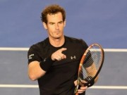 Tennis - Murray, Wawrinka xuất trận (V1 Rotterdam Open)