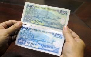 Ngân hàng - Tiền giả mệnh giá 5.000 đồng len lỏi vào chợ