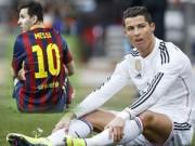 Bóng đá - Ronaldo đang chậm hơn Messi