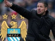 """Bóng đá Ngoại hạng Anh - Man City tính sa thải Pellegrini, đưa Simeone về """"chữa cháy"""""""