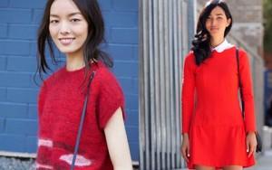 Bí quyết mặc đẹp - 3 lý do nên chọn màu đỏ mặc chơi Tết