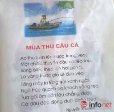 Giáo dục - du học - Bài thơ trong sách Tiếng Việt lớp 1 gây nhiều tranh cãi