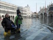 """Du lịch - Chùm ảnh: """"Thành phố tình yêu"""" Venice mùa nước nổi"""