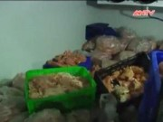 Video An ninh - Kinh hãi giò chả làm từ thịt gà bốc mùi