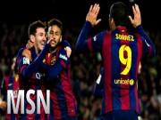 """Sự kiện - Bình luận - Barca - Villarreal: Cảm hứng """"cây đinh ba"""""""