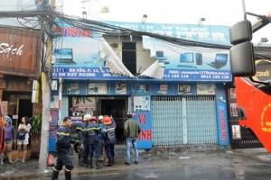 Tin tức Việt Nam - Ông Táo chưa đi, bà hỏa đã viếng cửa hàng máy vi tính