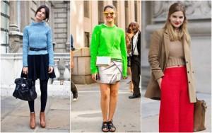 Áo len và 5 cách mặc không bao giờ lỗi mốt