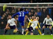 Video bàn thắng - Chelsea - Everton: Người hùng phút 89