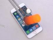 Tin tức công nghệ - iPhone 6 sẽ ra sao khi bị đổ nhôm nóng chảy