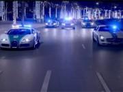 Ô tô - Xe máy - Cảnh sát Dubai khoe siêu xe theo cách Fast and Furious