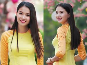 Bạn trẻ - Cuộc sống - Người đẹp Hoa anh đào du xuân trên phố Sài Gòn