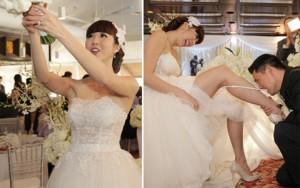 Khoảnh khắc khó quên trong đám cưới của sao Việt