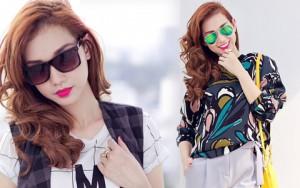 Thời trang - Cựu hot girl Quỳnh Chi nuột nà xuống phố
