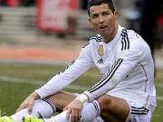 Bóng đá - Tin HOT tối 13/2: Ronaldo buồn vì phong độ yếu kém