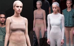 """Thời trang - Choáng với thiết kế """"mặc như không"""" của Kanye West"""