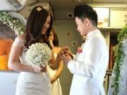 Bạn trẻ - Cuộc sống - Cặp đôi đồng tính nữ tổ chức đám cưới trên máy bay