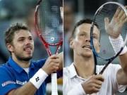 Tennis - Berdych hẹn đấu Wawrinka ở chung kết Rotterdam