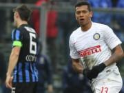 Bóng đá Ý - Atalanta - Inter: Không thể chống đỡ