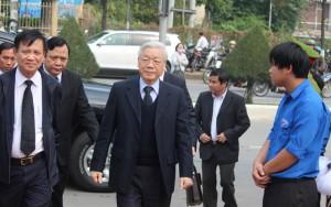 Tổng Bí thư, Thủ tướng viếng ông Nguyễn Bá Thanh