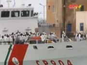 Video An ninh - Hơn 700 người di cư được Italy giải cứu trên biển