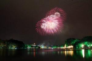 """Tin tức Việt Nam - HN: Những vị trí """"đắc địa"""" để xem pháo hoa Tết Ất Mùi"""