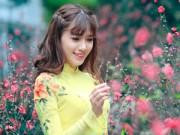 Bạn trẻ - Cuộc sống - Hot girl Hà Min rạng ngời khoe sắc trong nắng xuân