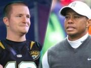 Golf - Golf 24/7: SAO bóng bầu dục thách đấu Tiger Woods